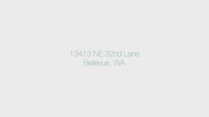 13413 NE 32nd Lane, Bellevue